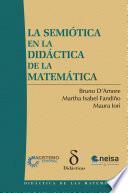 La semiótica en la didáctica de la matemática