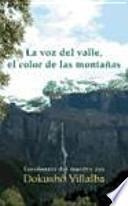 La voz del valle, el color de las montañas