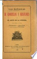 Las batallas de Chorrillos y Miraflores y el arte de la guerra