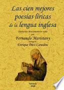 Las cien mejores poesías (líricas) de la lengua inglesa