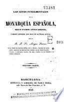 Las Leyes fundamentales de la monarquía española