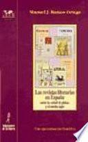 Las revistas literarias en España entre la edad de plata y el medio siglo