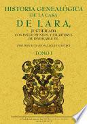 LD_HISTORIA GENEALOGICA DE LA CASA DE LARA