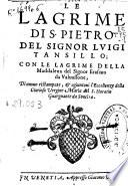 Le lagrime di S. Pietro