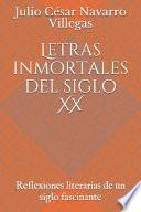 Letras inmortales del siglo XX