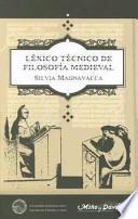 Léxico técnico de filosofía medieval