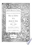 Libro de Cabildos de la cuidad de Quito