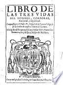 Libro de las tres vidas del hombre, corporal, racional y espiritual