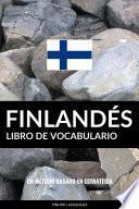 Libro de Vocabulario Finlandés
