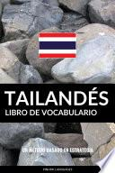 Libro de Vocabulario Tailandés