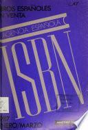 Libros españoles en venta, ISBN