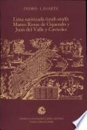 Lima satirizada (1598-1698)