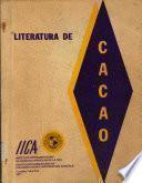 Literatura de cacao (Theobroma cacao L.)