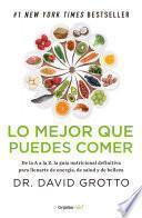 Lo mejor que puedes comer (Colección Vital)