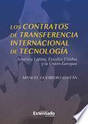 Los contratos de transferencia internacional de tecnología