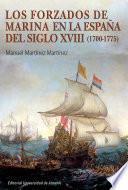 Los forzados de marina en la España del siglo XVIII (1700-1775)