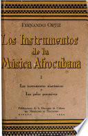 Los instrumentos de la música afrocubana: Los instrumentos anatómicos y los palos percusivos