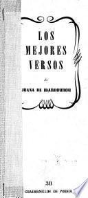 Los mejores versos de Juana de Ibarbourou