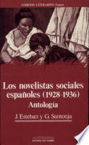 Los Novelistas sociales españoles (1928-1936)