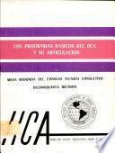 Los Programas Basicos del IICA y su Articulacion