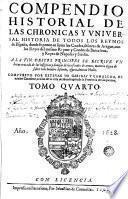 Los Quarenta libros del compendio historial de las chronicas y universal historia de todos los reynos de España, 4