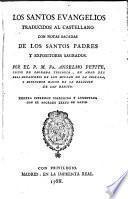 Los Santos Evangelios traducidos al castellano con notas