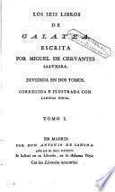 Los Seis libros de Galatea