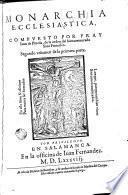 Los Treynta libros de la Monarchia ecclesiastica, o Historia universal del mundo, divididos en cinco tomos ..., 2