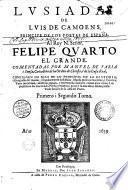 Lusiadas de Luis de Camoens... comentadas por Manuel de Faria y Sousa...