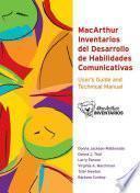 MacArthur Inventarios Del Desarrollo de Habilidades Comunicativas