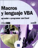 Macros y lenguaje VBA - aprender a programar con Excel