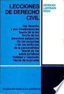 Manual 101 Lecciones de Derecho Civil