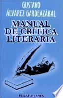 Manual de crítica literaria