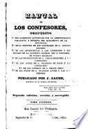 Manual de los confesores