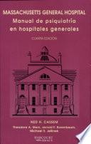 Manual de Psiquiatría en Hospitales Generales