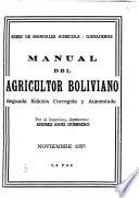 Manual del agricultor boliviano