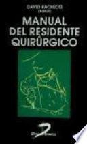 Manual del residente quirúrgico