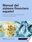 Manual del sistema financiero español