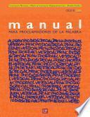 Manual Para Proclamadores De La Palabra 2009