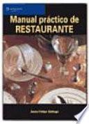 Manual práctico de restaurante