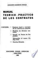 Manual teórico-práctico de los contratos