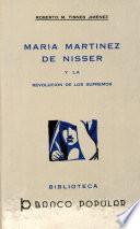 María Martínez de Nisser y la revolución de los supremos