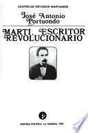 Martí, escritor revolucionario