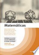 Matemáticas. Temario Pruebas de Acceso a Ciclos Formativos de Grado Superior