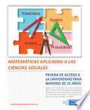 Matemticas Aplicadas a Las Ciencias Sociales