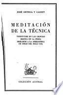 Meditación de la técnica