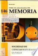 Memoria - Sociedad de Ciencias Naturales La Salle