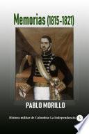 Memorias (1815-1821)