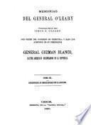 Memorias del general O'Leary: Correspondencia de hombres notables con el Libertador