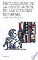 Metodología de la observación en las ciencias humanas